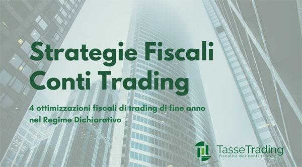 Paga Meno Imposte sul tuo Conto Trading!